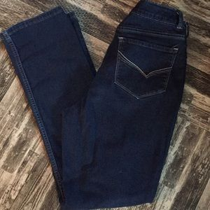 Lee Rider Stretch Denim Straight Leg Jeans